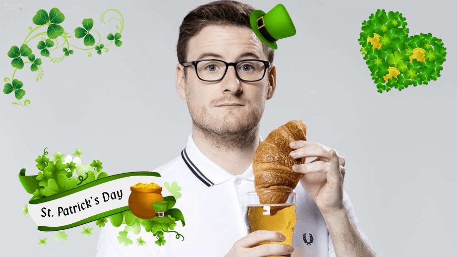 Celebrating St Patrick's Day with… Paul Taylor!