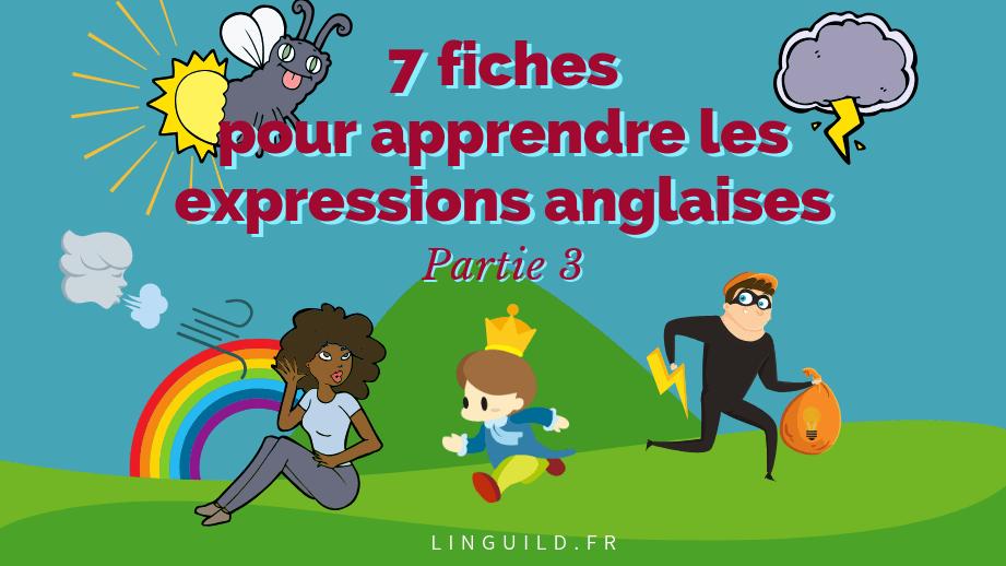 7 expressions anglaises sur la météo 🌞 (Partie 3)