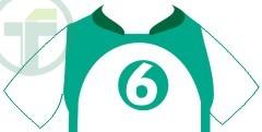 numeração da camiseta