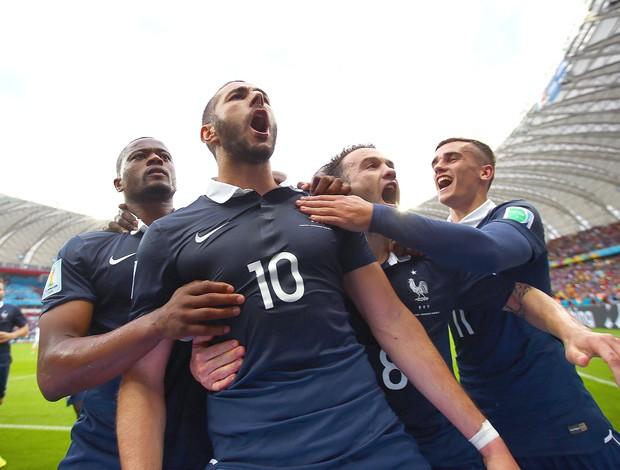 França fez ótima campanha na Copa de 2014. Parou na campeã Alemanha. Foto: Getty Images