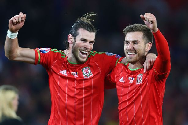 Bale e Ramsey são destaques de um país de Gales que pode surpreender.