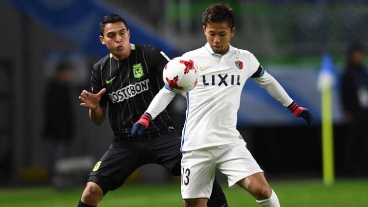 REal enfrentam o Kashima Antlers, que bateu o Atlético Nacional ontem de manhã