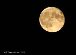 Full Moon Sept 28 - 2015
