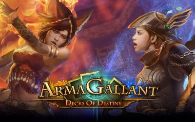 News: ArmaGallant: Decks of Destiny Out On PS4 Today