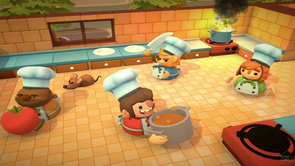 News: Overcooked Coming to Nintendo Switch on July 27th