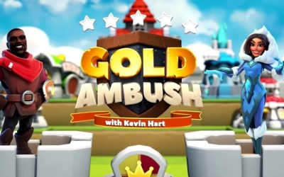 News: Gold Ambush with Kevin Hart Available now on App Store