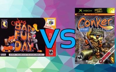 LC Loves: Conker's Bad Fur Day VS. Conker: Live & Reloaded