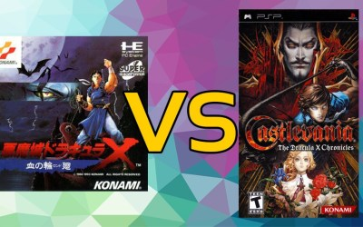 LC Loves: Castlevania: Rondo of Blood VS. Castlevania: The Dracula X Chronicles