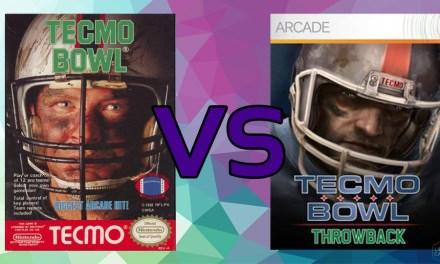 LC Loves: Tecmo Bowl VS. Tecmo Bowl: Throwback