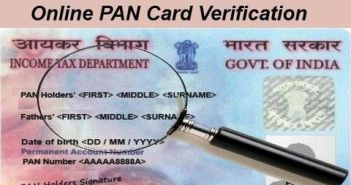 PAN Card Verification