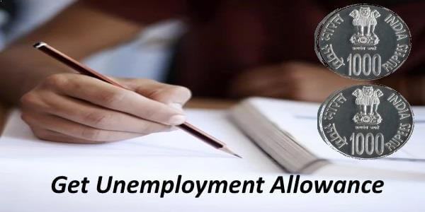 unemployment allowances from government