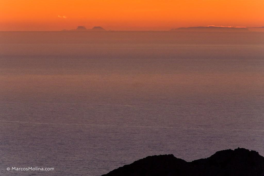 Alicante desde Mallorca, fotografía de Marcos Molina