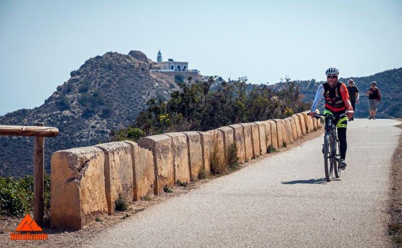 Cycling path Faro Albir