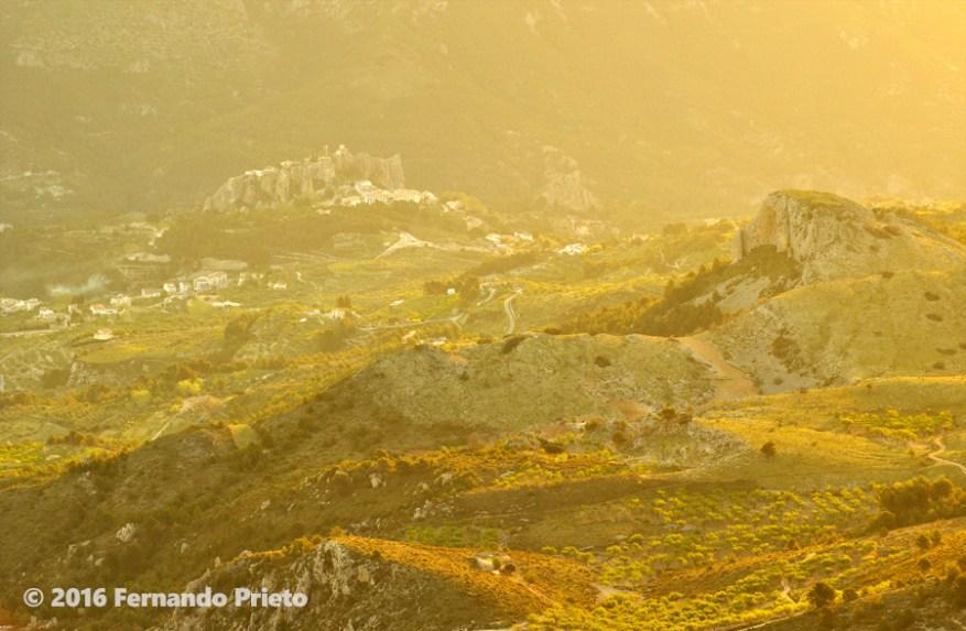 Castell de Guadalest desde Aitana