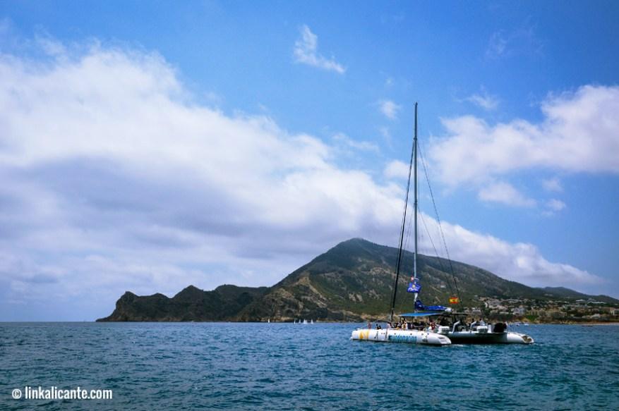Catamarán de MundoMarino - Serra Gelada