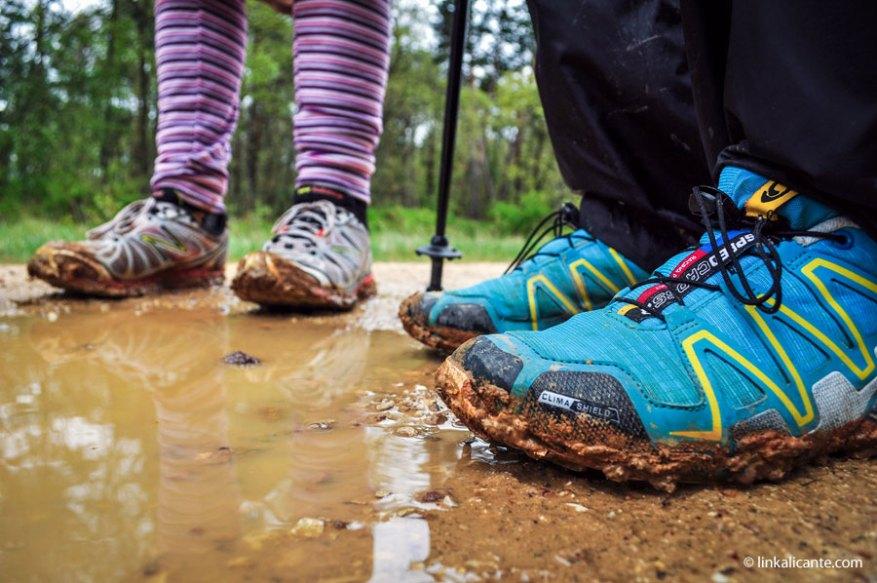 Zapatillas de trail en el Camino de Santiago