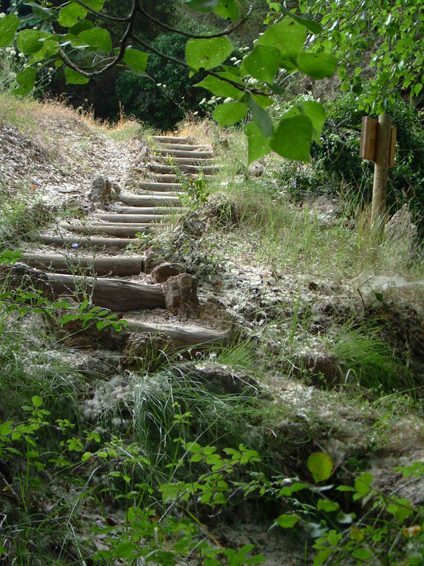 font-coveta-nacimiento-vinalopo-escaleras