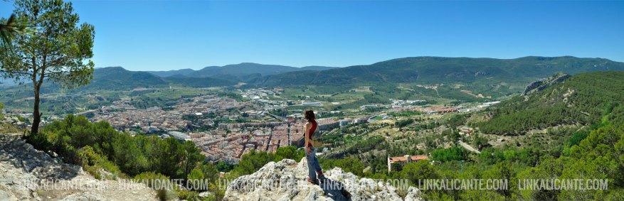 Panoramica de Alcoi desde Sant Cristòfol