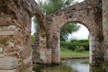 Sala Consilina, Campania. Castello dei Longobardi