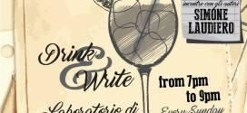 A Drink&Write, Simone Laudiero ci parla di eroi e sentimenti