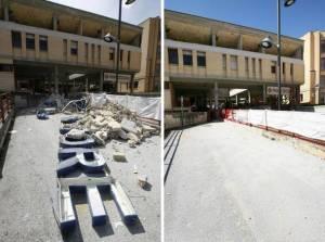 foto ospedali a rischio sismico