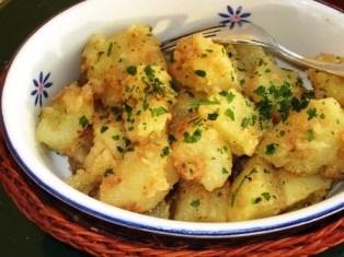 foto ricetta patate alle noci
