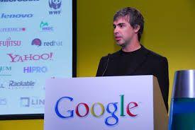 Larry Page - amministratore delegato di Google
