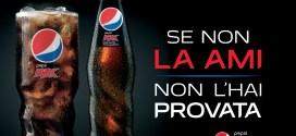 Il gusto e il brio di PepsiMax sospesi a 50 mt di altezza.