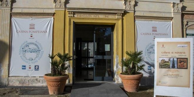 La Casina Pompeiana ospita la mostra Colore e Materia