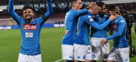 Il Napoli si riporta in testa battendo meritatamente la lazio e insaccando quattro goal