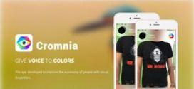 Cromnia: un'app. per non vedenti che da voce ai colori