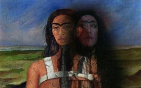 Immagine_Vertigini di colore_ Frida Kahlo