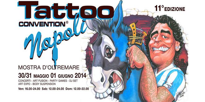 Napoli Tattoo Convention tra inchiostro e circo