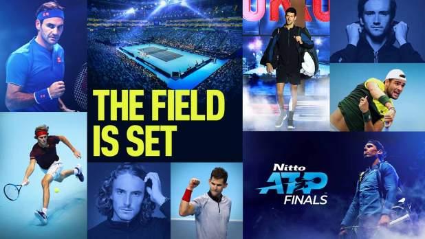 ATP Tour. Stefanos Tsitsipas è il maestro tra i maestri. Gli otto delle ATP Finals 2019