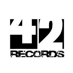 Logo della 42 Records, etichetta discografica indipendente romana