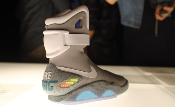 "Nike's Air Mag sneaker from ""Back to The Future"""