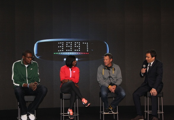 Nike FuelBand press announcement event
