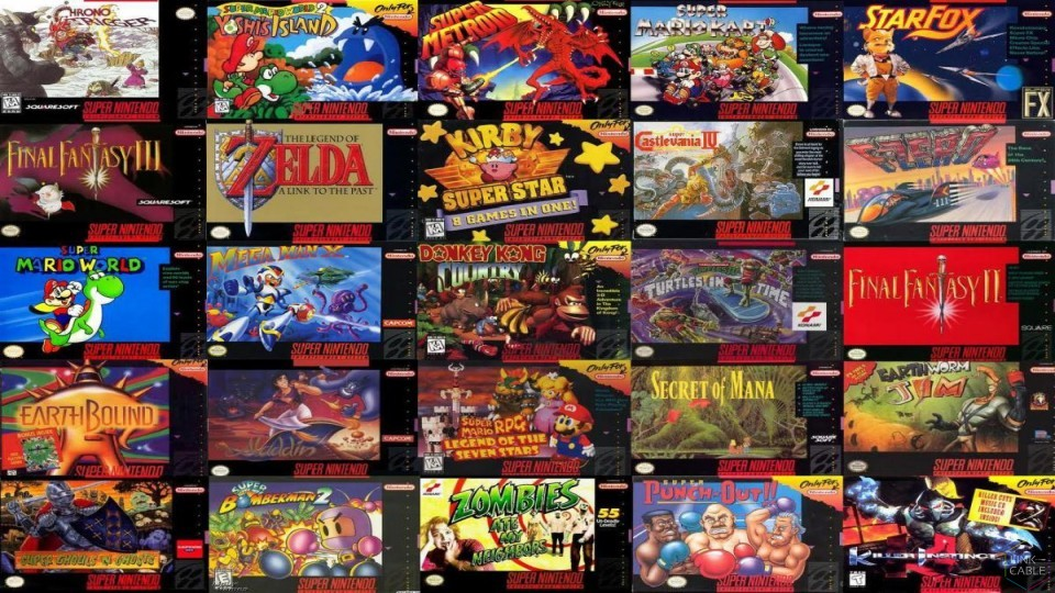 LC Loves: The Perfect 30 Games for the SNES Classic Edition | Link-Cable