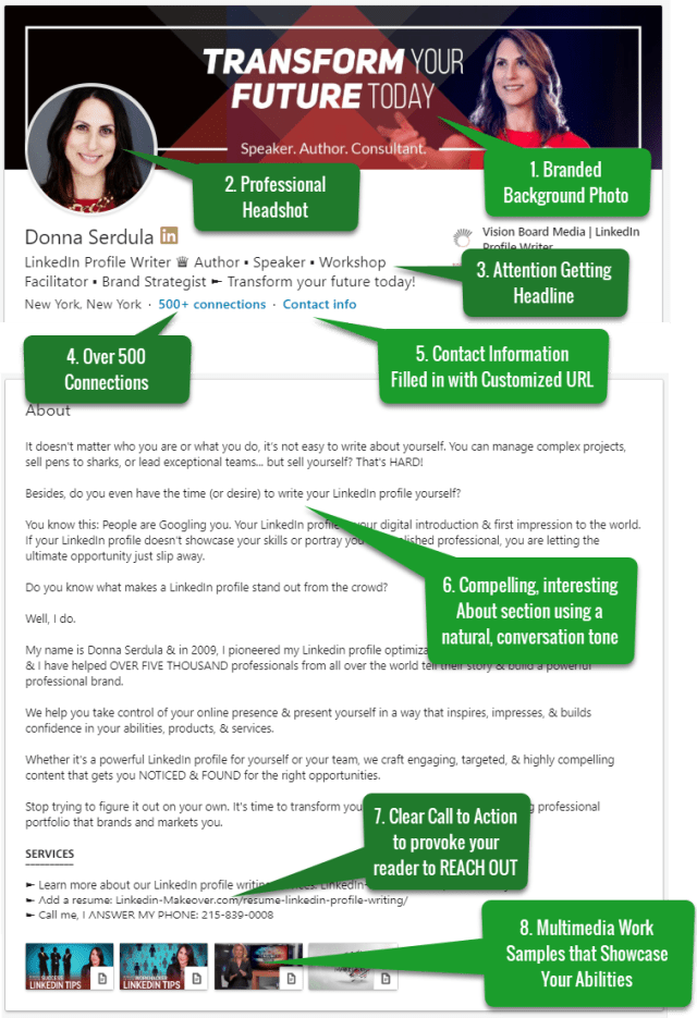 LinkedIn Profile Tips: What the Best LinkedIn Profiles Look Like
