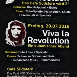 kulturprogramm cafe südstern flyer