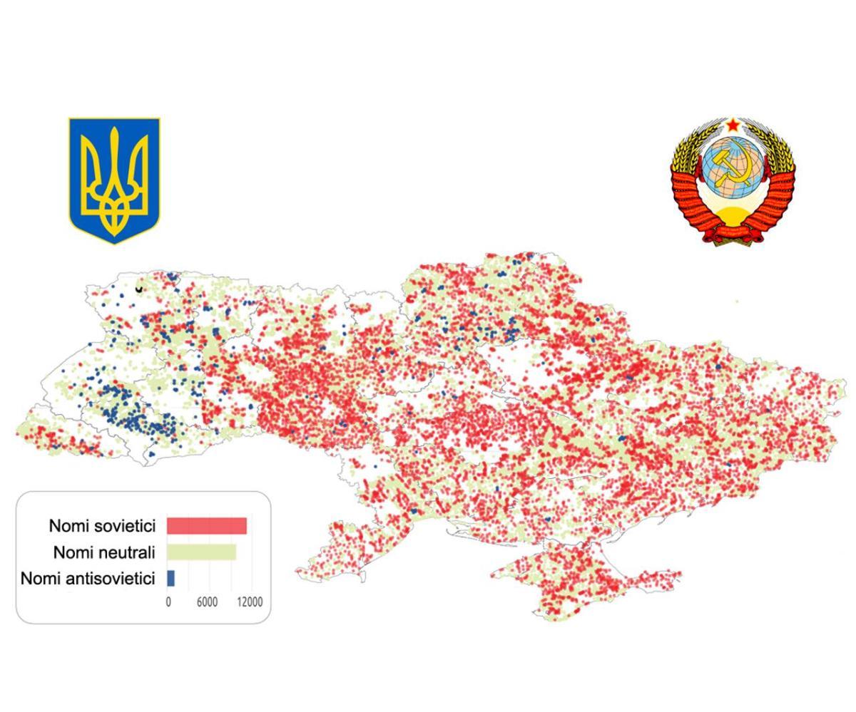 Cartina Muta Ucraina.In Ucraina C E Piu Lenin Che Occidente La Mappa Linkiesta It