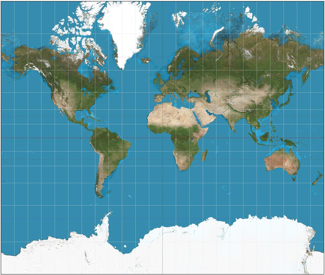 Cartina Del Mondo Nel 1800.La Mappa Della Terra Che Tutti Conosciamo E Un Inganno Linkiesta It