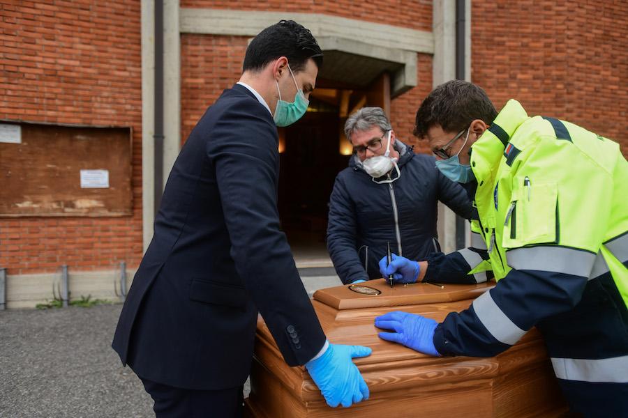 Bergamo morti