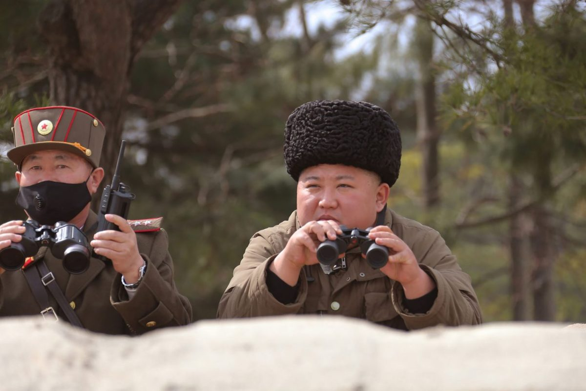 AFP PHOTO/KCNA VIA KNS