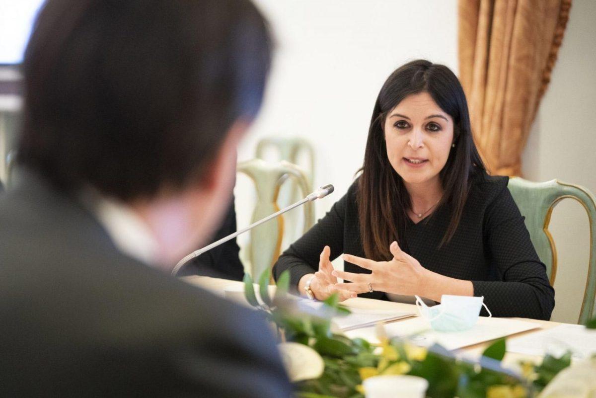 Maria Cristina Rosaria Pisani Presidente Consiglio Nazionale Giovani