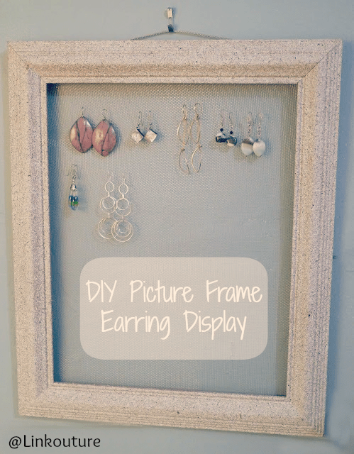 Fun with Stone Textured Spray Paint Part 2 Earring Displays