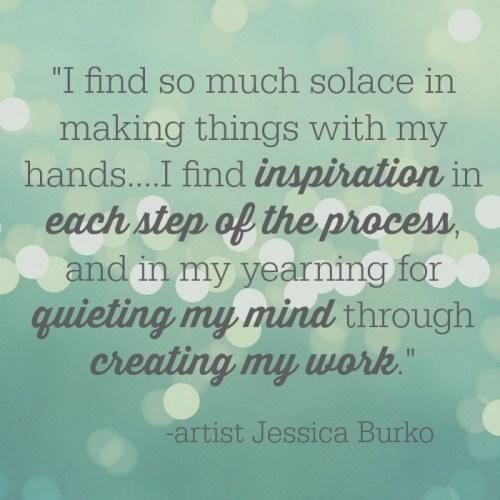 Artist Jessica Burko on her inspiration