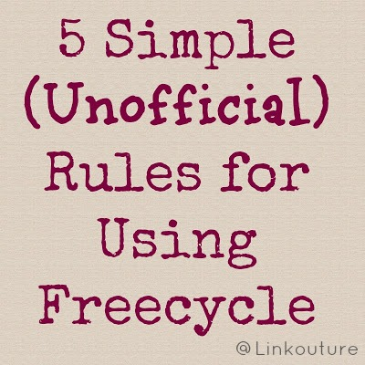 5+rules+for+freecycle