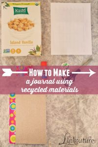 Have your child make a journal perfect for writing or coloring in using materials you probably already have at home!