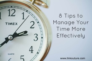How to use your time more effeciently